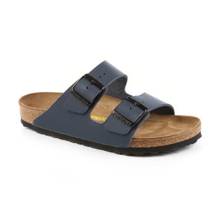 勃肯BIRKENSTOCK 051151。ARIZONA亞利桑那 經典二條拖鞋(藍)