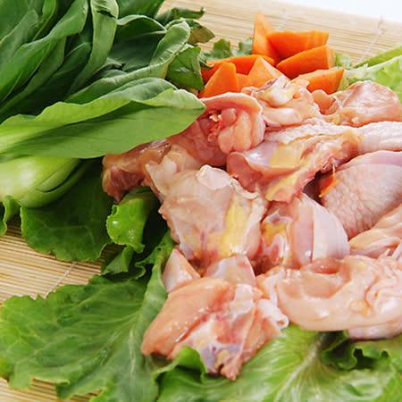 吉品養生無毒豬-珍珠雞(半隻切塊)