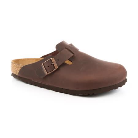 勃肯BIRKENSTOCK 860131。BOSTON 波斯頓 包頭拖鞋(古樸褐色)