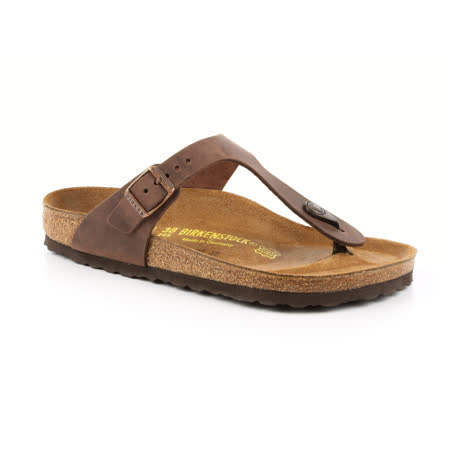 勃肯BIRKENSTOCK 743831。GIZEH吉薩 夾腳拖鞋(古樸褐色)
