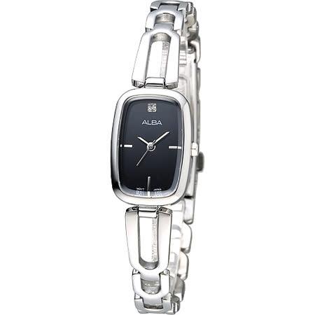 ALBA 雅典娜之心淑女腕錶-黑(AC3U77X1)