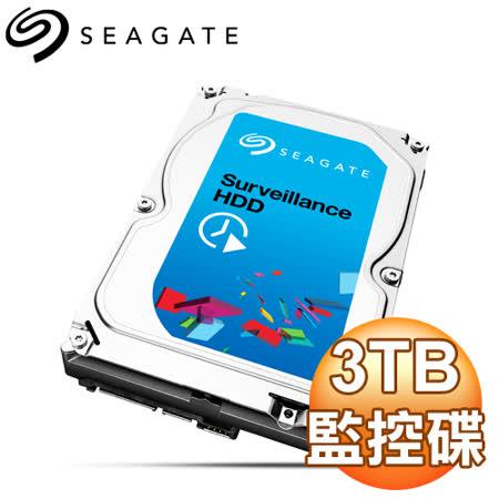 Seagate 希捷 3TB 64M 3.5吋 5900轉 SV35 監控硬碟(ST3000VX006) 三年保固