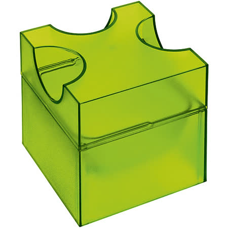 《KOZIOL》起司刨切收納罐(透綠)