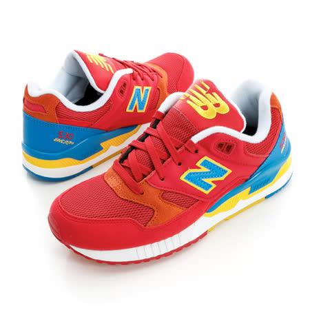 New Balance (女)經典復古鞋-紅-W530PIM