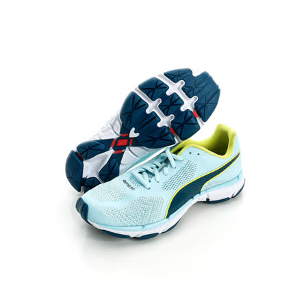 PUMA (女)慢跑鞋-淺藍-18815701