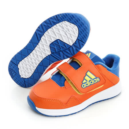adidas (童)慢跑鞋-橘-B24552