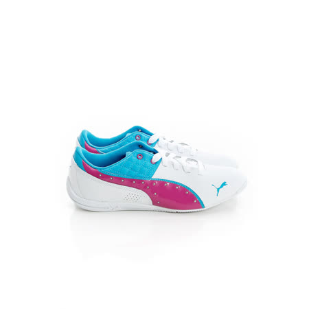 PUMA (童)慢跑鞋-白-30518506