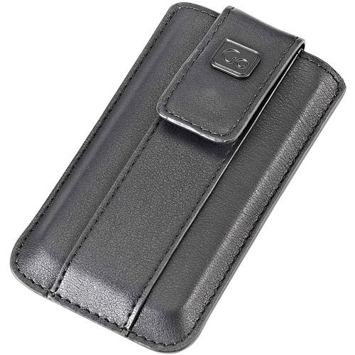 《GO TRgohappy 客服 專線AVEL》iPhone5磁扣手機袋(黑)