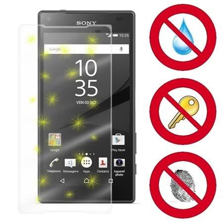 D&A SONY Xperia Z5 Compact (4.6吋)電競專用5H螢幕保護貼(NEW AS玻璃奈米)