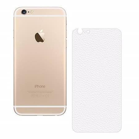 D&A Apple iPhone 6+/6S+ (5.5吋)專用超薄光學微矽膠背貼(皮革紋)