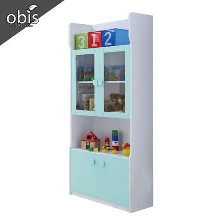 【obis】天天晴朗2.7尺書櫃(單)