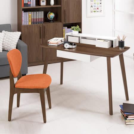 HAPPYHOME 溫茲4尺書架型書桌