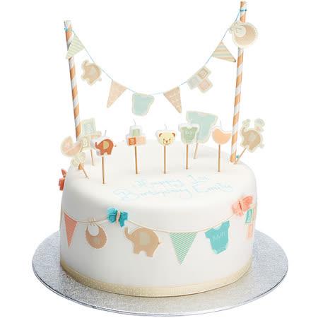 《Sweetly》蛋糕裝飾叉(新生寶寶)