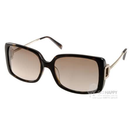 TOD'S太陽眼鏡 氣質方框款(琥珀) #TOD9114 52F
