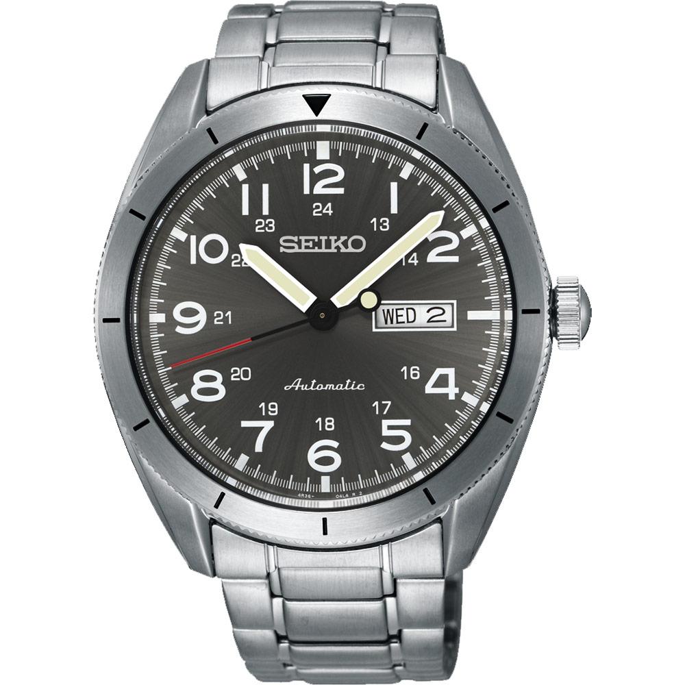 SEIKO CS系列日系菁英機械錶~灰43mm 4R36~04H0S^(SRP709J1^