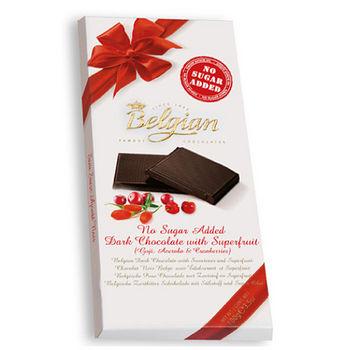 白儷人無糖莓果黑巧克力100g