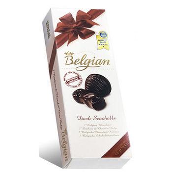 白儷人貝殼黑巧克力60g