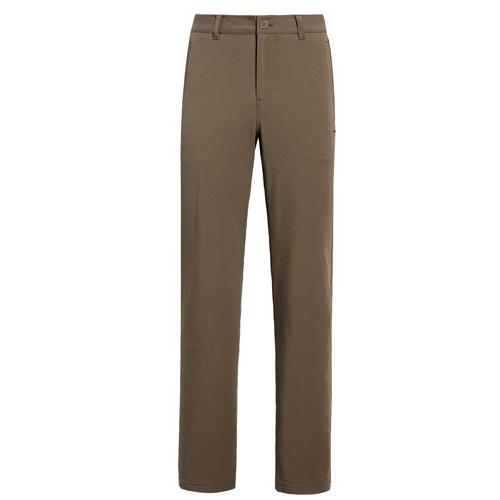 【hilltop山頂鳥】男款超潑保暖彈性長褲H31MJO-卡其