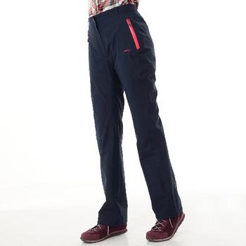 【hilltop山頂鳥】女款GORE-TEX防水透氣長褲H31FI7-藍