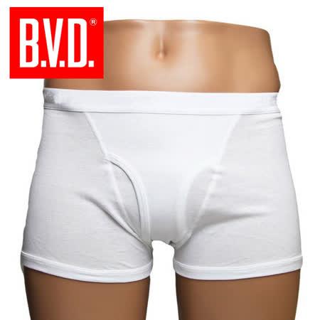 BVD 100%純棉四角褲 (3件組)  台灣製造