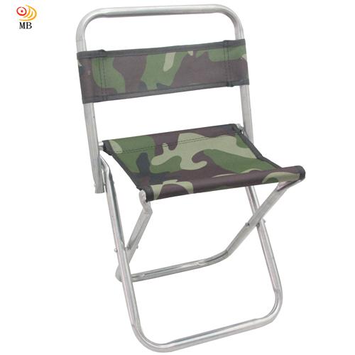 月陽迷彩版高48cm背靠式折疊椅休閒椅馬扎折疊凳 U48B