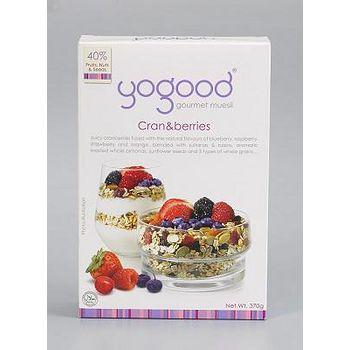 yogood 優纖綜合莓果燕麥片 370/盒