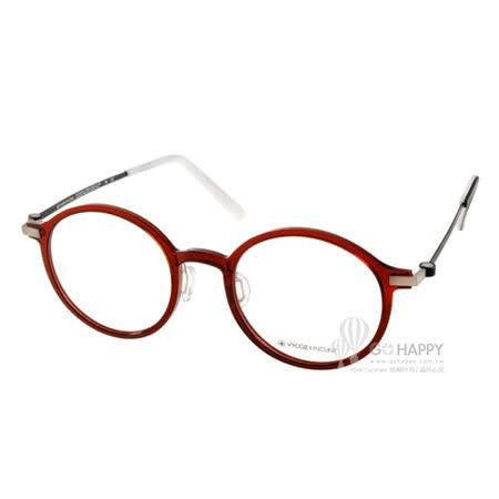 VYCOZ眼鏡 創新EMPLA材質(紅-黑) #BELL REDBK