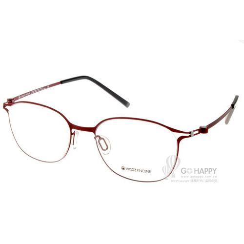 VYCOZ眼鏡 休閒簡約款(質感紅) #LUNA TTGRYRD