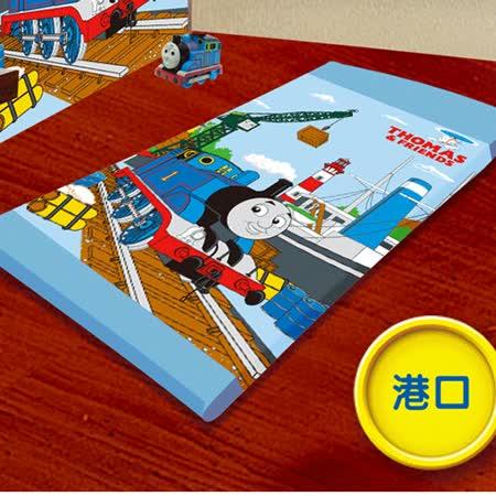 【VIVI.ANI】經典正版授權卡通【湯瑪士港口篇】單人三折式透氣床墊