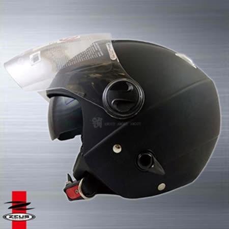 【ZEUS 瑞獅 ZS- 202FB 素色 安全帽】內置遮陽鏡片|通風設計