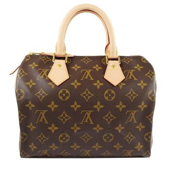 Louis Vuitton LV M41109 M41528 Speedy 25 經典花紋手提包_現貨