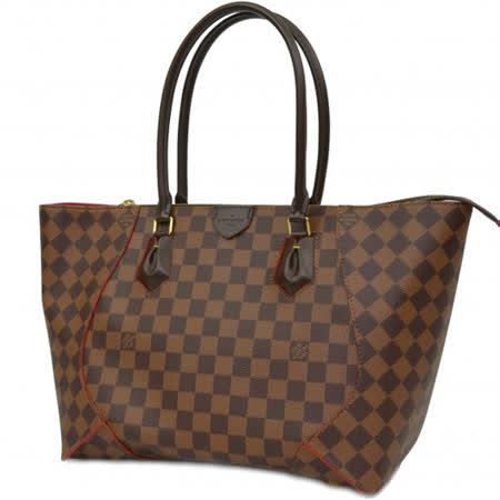 Louis Vuitton LV N41548 Caïssa Tote MM 棋盤格紋肩背托特包_預購