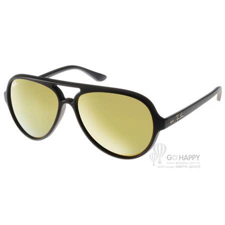 RayBan太陽眼鏡 人氣水銀鏡面款(黑) #RB4125 601S93