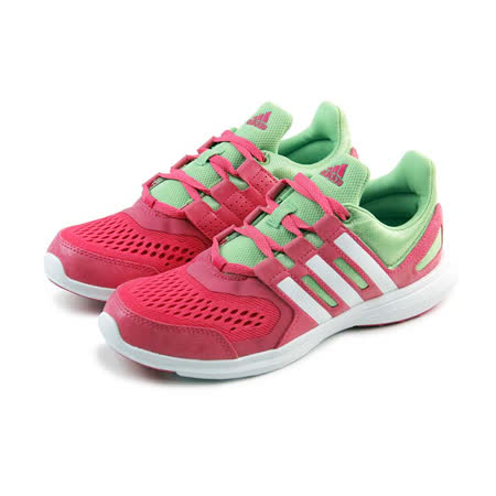(大童)ADIDAS HYPERFAST 2.0 K 慢跑鞋 粉莓紅/淺綠-S82589