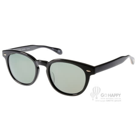 OLIVER PEOPLES太陽眼鏡 復古偏光款(黑) #SHELDRAKE SUN 10059A
