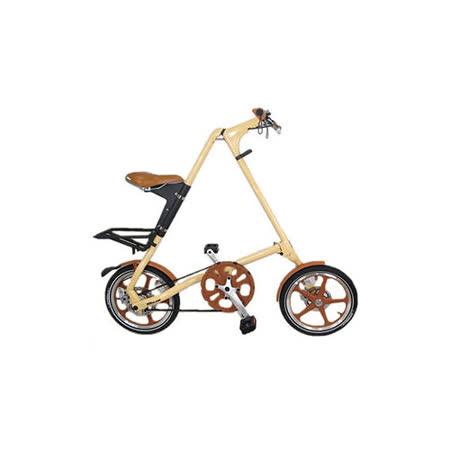 STRiDA 速立達 16吋LT折疊單車(碟剎) 奶油色