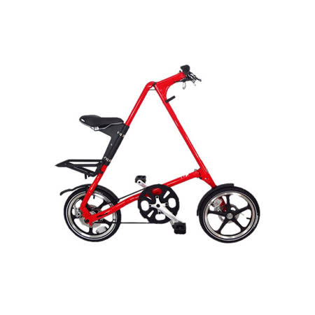 STRiDA 速立達 16吋LT折疊單車(碟剎) 法拉利紅