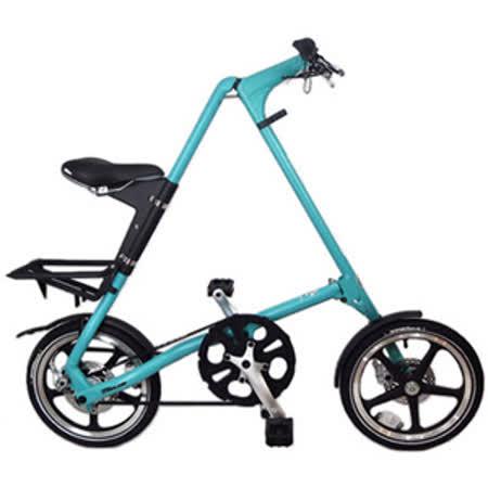 STRiDA 速立達 16吋LT折疊單車(碟剎) 湖水綠