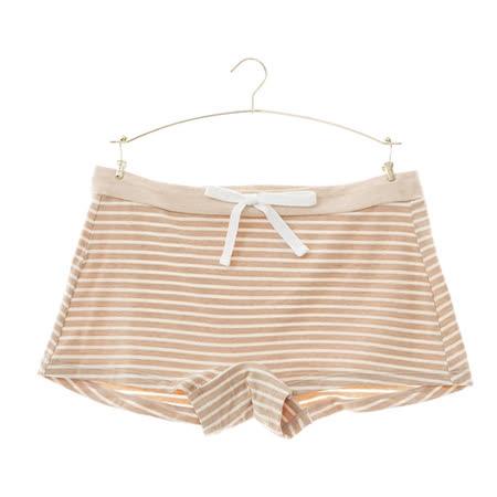 【華歌爾】環保I-earth有機天然彩棉M-LL平口褲(米原色)-品牌特賣匯