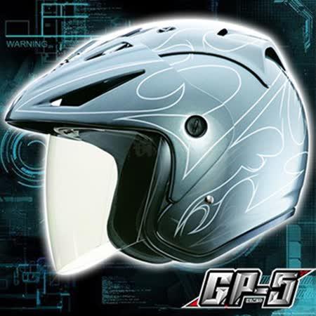 【GP-5 A-203線條彩繪 3/4 罩安全帽】美國DOT認證|止水條設計|夏天通風必備|高級牛皮厚襯|品質保證