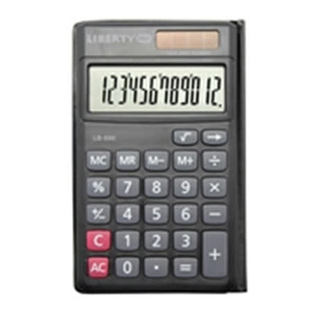 【LIBERTY】專職達人-商務用12位數計算機