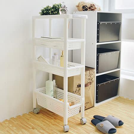 《舒適屋》日系四層移動式縫隙收納櫃/置物櫃(21x48cm)