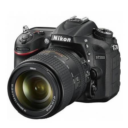 Nikon D7200 18-300mm F/3.5-6.3G ED VR (公司貨)-加送64G卡+專用電池+吹球清潔組+拭鏡筆+相機包+快門線+遙控器+HDMI+減壓背帶+保護鏡+熱靴蓋水平儀