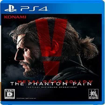 普雷伊 PS4《潛龍諜影 5:幻痛》亞洲中文版