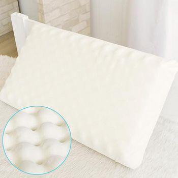 床之戀 舒適顆粒天然乳膠枕 -1入