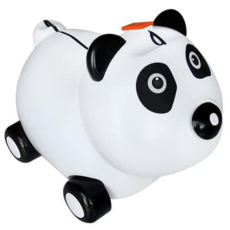 寶貝樂 可愛熊貓兒童行李箱-白色