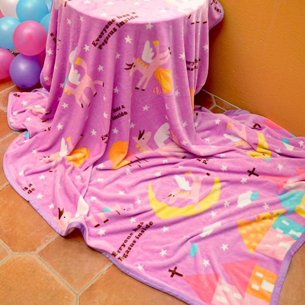 義大利Fancy Belle X Malis~心中的飛馬~雪芙絨毯150~200CM