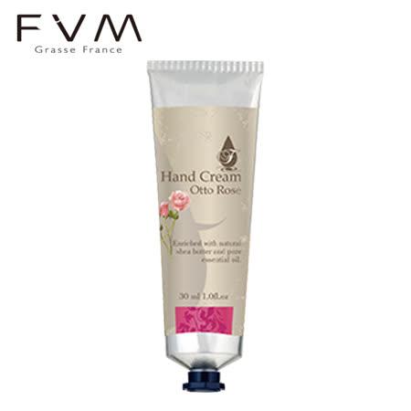 【法國FVM法菲曼】奧圖玫瑰精油護手霜