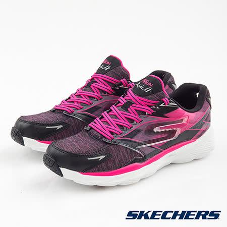 SKECHERS (女) 跑步系列 GORun RIde4 - 13999BKHP