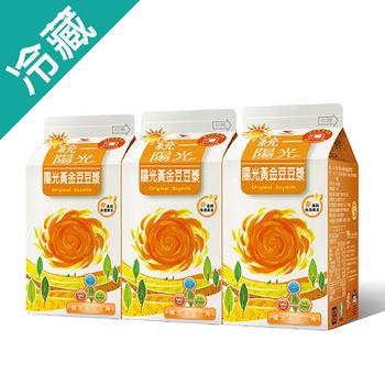 統一陽光陽光黃金豆豆漿450ml*3入